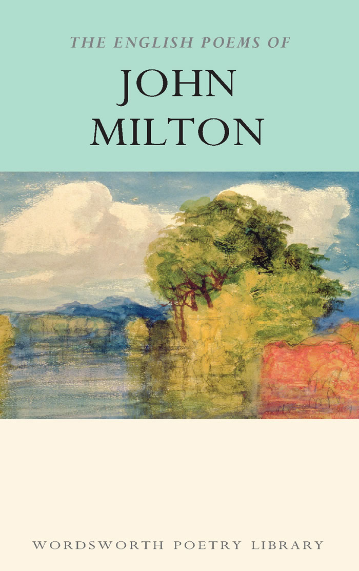 ENGLISH POEMS OF JOHN MILTON, THE