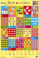 FIRST WORDS AND NUMBERS WALL CHART