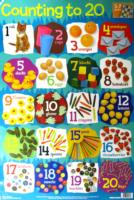 NUMBERS 1-20 WALL CHART