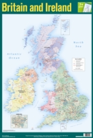 BRITAIN AND IRELAND WALL CHART