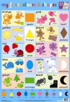 MY FIRST COLOURS AND SHAPES WALL CHART