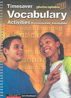 VOCABULARY ACTIVITIES PRE-INTERMEDIATE/INTERMEDIATE