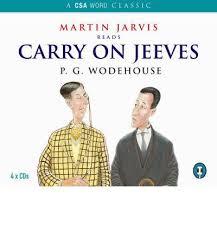 AUDIOBOOK - CARRY ON, JEEVES (UNABRIDGED)