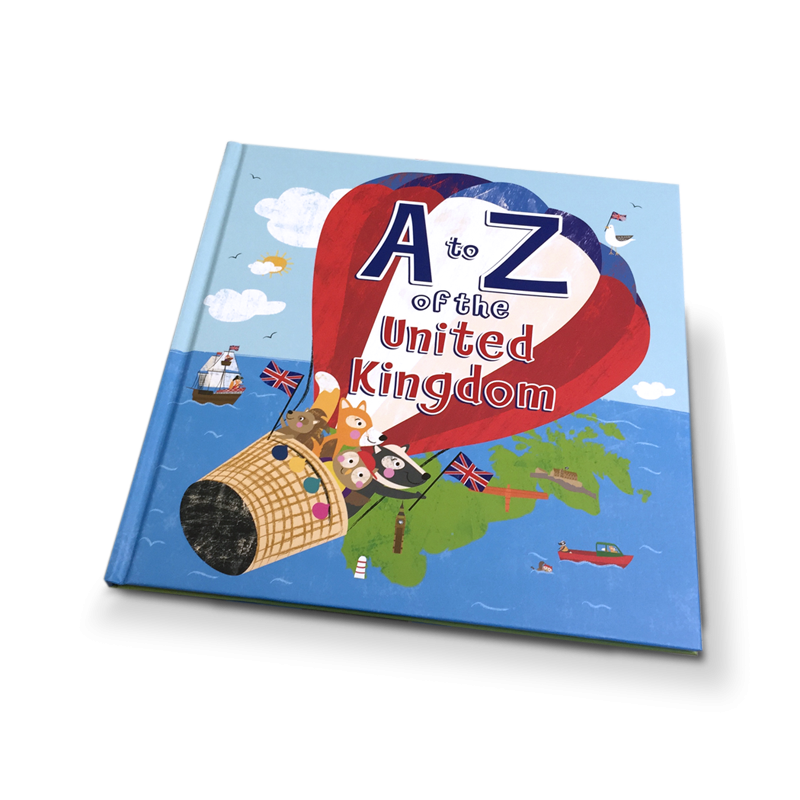 A TO Z OF THE UNITED KINGDOM : WITH A PULL OUT A TO Z POSTER INSIDE