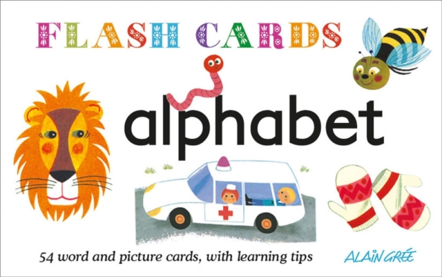 FLASHCARDS: ALPHABET