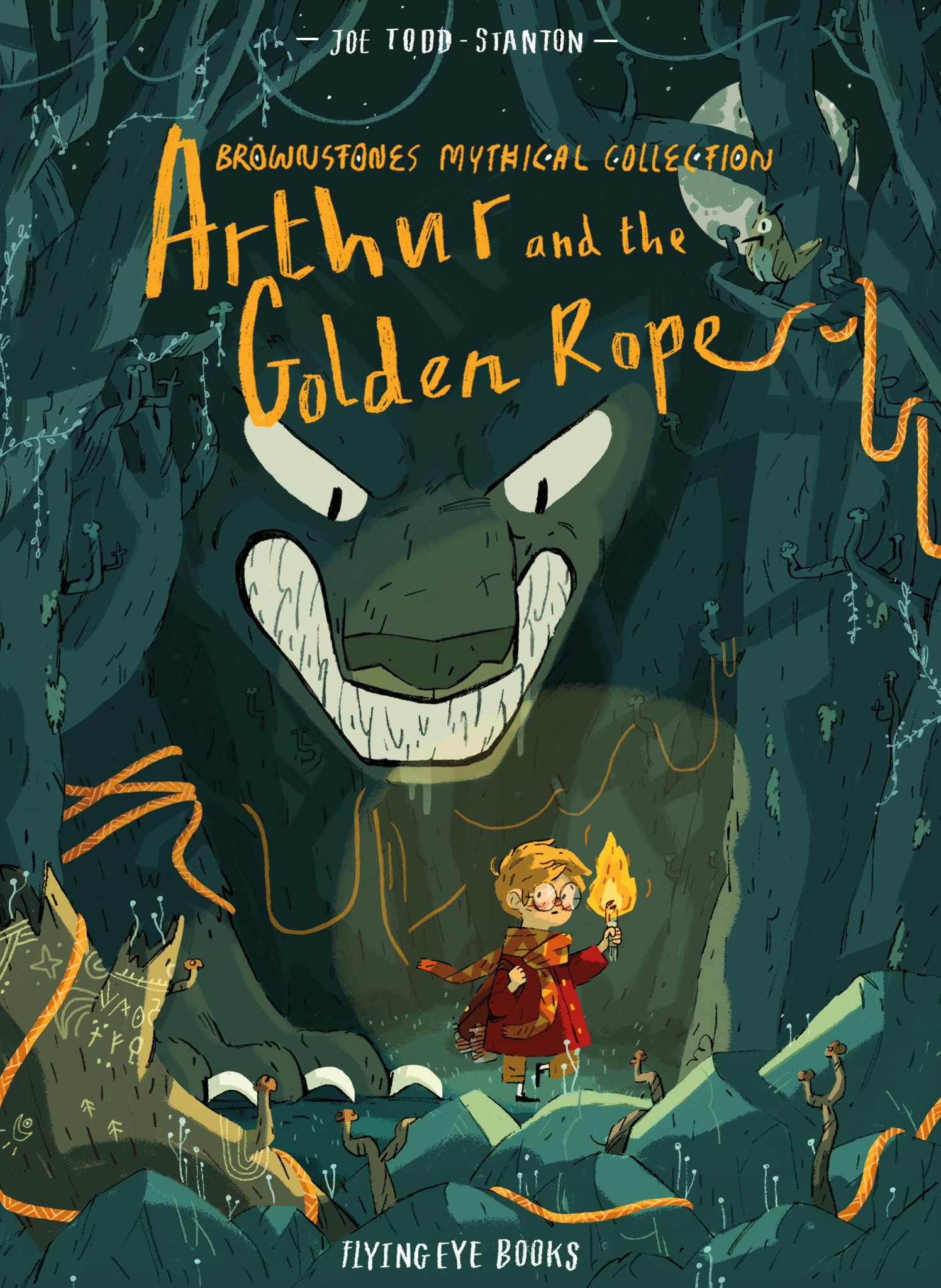 BROWNSTONE'S MYTHICAL COLLECTION: ARTHUR AND THE GOLDEN ROPE