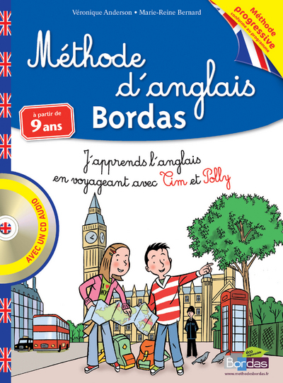 METHODE D'ANGLAIS A PARTIR DE 9 ANS CM1/CM2 + CD AUDIO