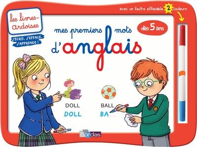 MES PREMIERS MOTS D'ANGLAIS DES 5 ANS