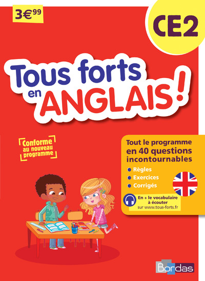 TOUS FORTS EN ANGLAIS ! CE2