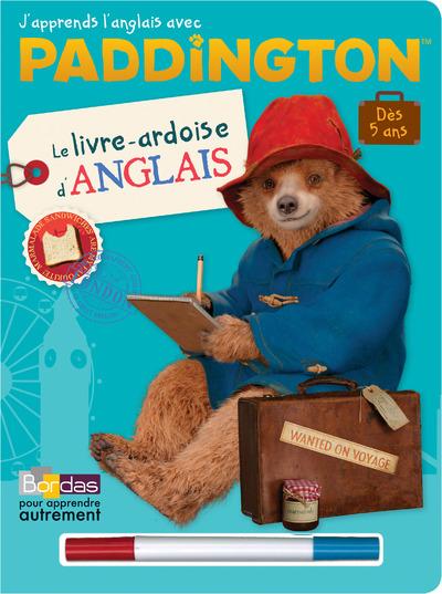 PADDINGTON - LE LIVRE-ARDOISE ANGLAIS AVEC 1 FEUTRE EFFACABLE 2 COULEUR