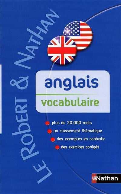 LE ROBERT & NATHAN VOCABULAIRE ANGLAIS