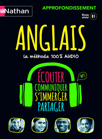 COFFRET ANGLAIS LA METHODE 100% AUDIO APPROFONDISSEMENT (VOIE EXPRESS) 2016
