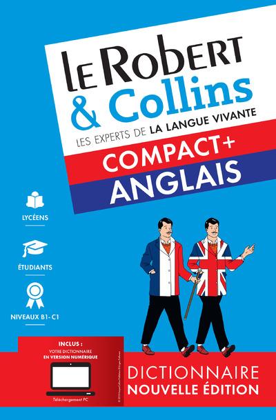 LE ROBERT & COLLINS COMPACT+ ANGLAIS