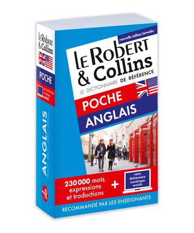 LE ROBERT & COLLINS POCHE ANGLAIS - NOUVELLE EDITION BIMEDIA