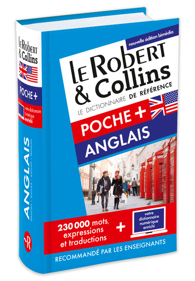 ROBERT & COLLINS POCHE+ ANGLAIS - NOUVELLE EDITION