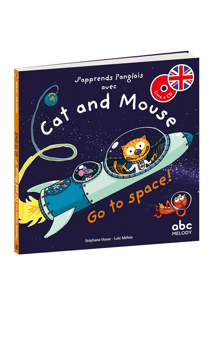 CAT AND MOUSE GO TO SPACE