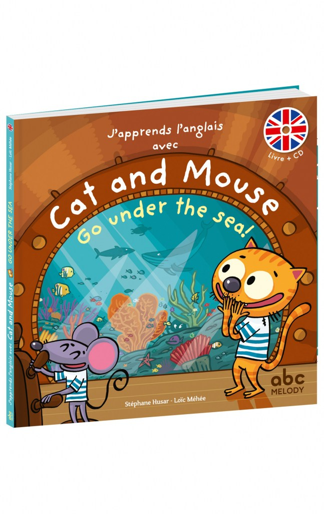 CAT & MOUSE GO UNDER THE SEA!