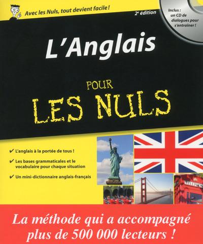 ANGLAIS POUR LES NULS 2EME EDITION