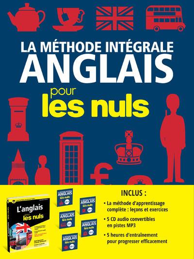 COFFRET LA METHODE INTEGRALE ANGLAIS POUR LES NULS