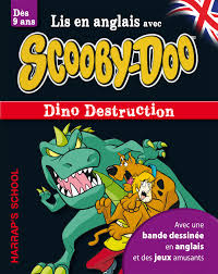 HARRAP'S A STORY AND GAMES WITH SCOOBY-DOO-DINO DESTRUCTION