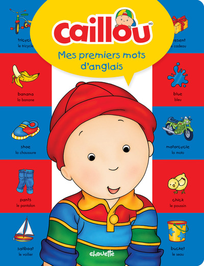 CAILLOU MES PREMIERS MOTS D'ANGLAIS