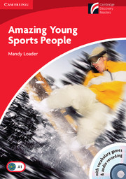 C.D.R.1 - AMAZING YOUNG SPORTS PEOPLE + CD-ROM + CD (GB)