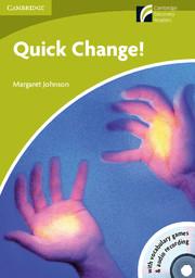 C.D.. STARTER - QUICK CHANGE! DEBUTANT - LIVRE (US)