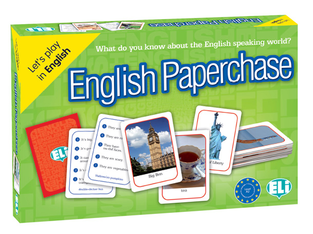GAME - ENGLISH PAPERCHASE